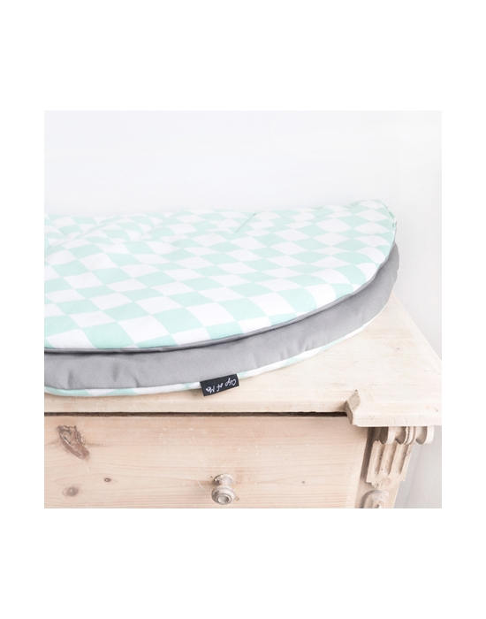Boxkleed Minty Rond
