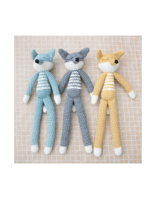 Crochet Fox Mint