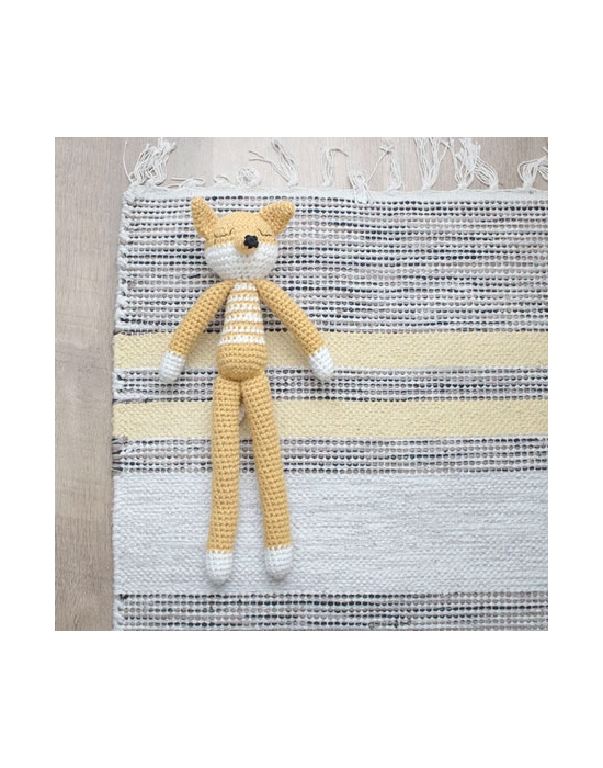 Crochet Fox Yellow