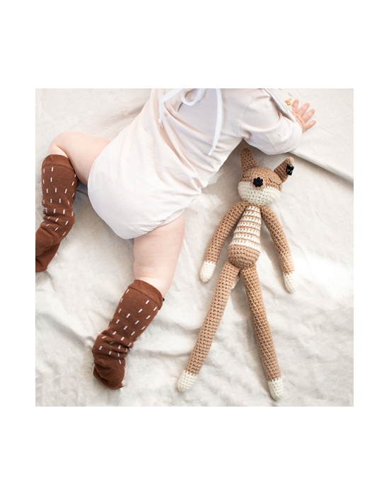 Crochet Fox Beige